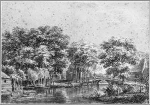 Landschap tussen Vreeland en de Hinderdam in de provincie Utrecht