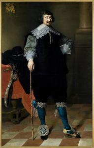 Portret van Wytze van Cammingha (1592-1641)