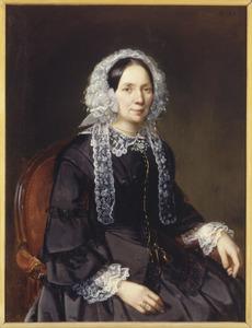 Portret van Hendrika Kok - de Wit