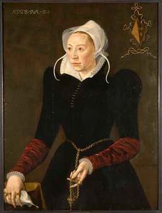 Portret van Marytgen Dedel (1547-1621)