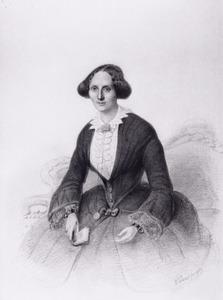 Portret van Jacoba Maria Helena Jeanne Buchner (1815-1893)
