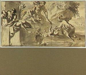 De herder Faustulus vindt Romulus en Remus
