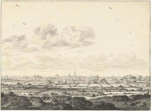 Gezicht op Middelburg