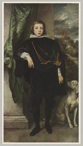 Portret van Filippo Francesco d'Este (1621-1653) als jongen