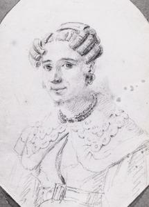 Portret van Johanna Wouterina Holleman (1797-1843)