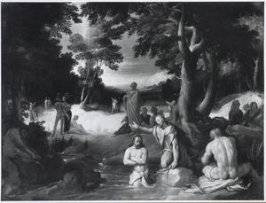 De doop van Christus (Mattheus 3:15)