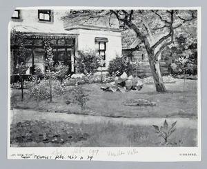 In den tuin
