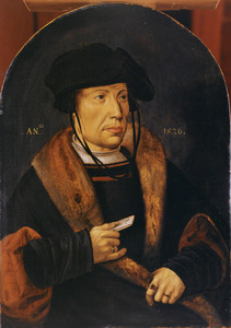 Portret van Willem Syvertsz. Backer (1499-1536)