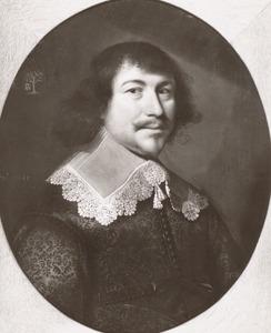 Portret van Hendrik Kievit genaamd Biscop (1598-1651)