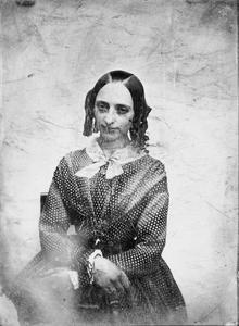 Portret van Anna Jacoba Maria Nieuwenhuis (1826-1877)