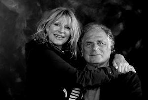 Portret van Jan Cremer en zijn vrouw Babette Sijmons