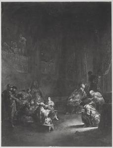 De twaalfjarige Jezus temidden der schriftgeleerden in de tempel