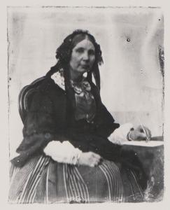 Portret van Gertrude Frédérique Josine Hasselaer (1800-1874)