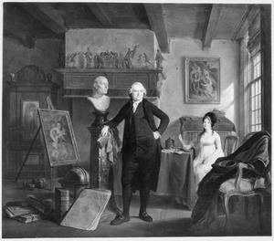 Dubbelportret van Jan de Bosch (1737-1823) en zijn echtgenote Margaretha Kroon (1741-1824)