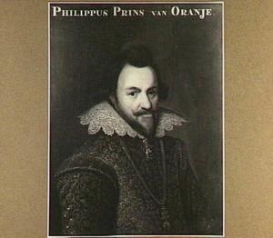 Portret van Prins Philips Willem, prins van Oranje Nassau (1554-1618)