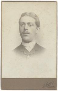 Portret van Theodorus Wilhelmus Klootwijk (1859-1896)