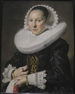 Portret van een vrouw, waarschijnlijk Aeltje Dircksdr. Pater (1597-1678)