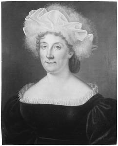 Portret van Henriette Jeanne Susanna Maria van Nassau -la Lecq (1764-1810)