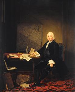 Portret van Jan Wagenaar (1709-1773)