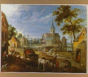 Plundering van een dorp