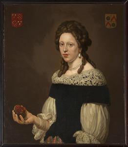Portret van Eva de Kies van Wissen (1671-1715)
