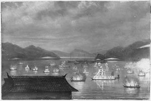 Reis van Suez naar Nagasaki via Oost-Indië: laatste dag van het Lampjesfeest te Nagasaki