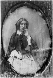 Portret van Marie Elisabeth Clementine Aymes (1825-1908)