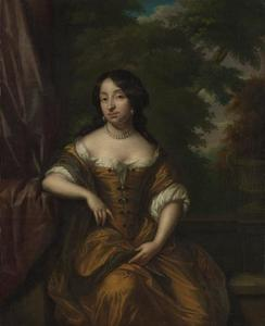 Portret van Anna Maria Hoeufft (1646-1715)