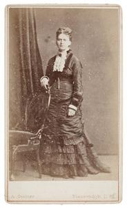 Portret van Clara Johanna van de Poll (1853-1931)