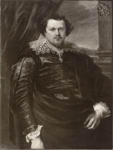 Portret van een lid van de familie Charles de Nieuwenhove op 30-jarige leeftijd