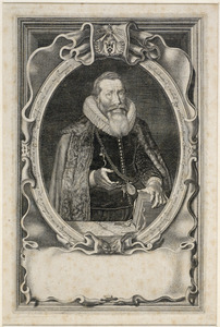 Portret van Johan Huyssen (1566-1634)