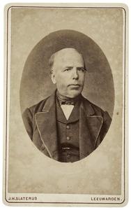 Portret van Jacob Hommes Kalma (1820-1896)