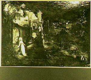 Landschap met de boetvaardige Maria Magdalena