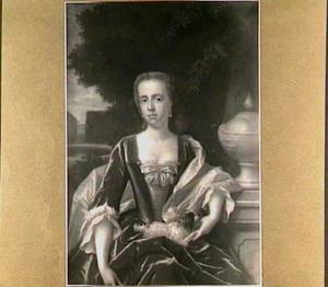 Portret van Jacoba Amarantha de Salis (1723-1783), echtgenote van Willem Hendrik Dierkens