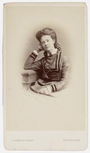Portret van Rose Elisabeth Kreet de Virieu (1844-1881)