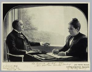 Portret van de heer en mevrouw Moritz-Warburg