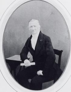 Portret van Willem Gerrit Hovy (1805-1886)