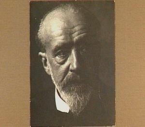 Portret van de schilder Frans Bakker (1871-1944)