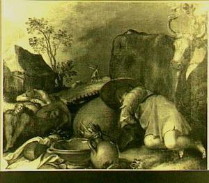 De duivel zaait onkruid onder de tarwe (Matt.13:24-30)