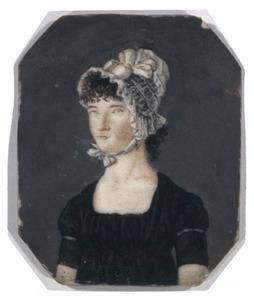 Portret van waarschijnlijk Johanna Maria Wilhelmina Berkelbach van de Sprenkel ( -1821)