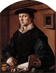Portret of Pieter Bicker (1497-1567)