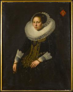 Portret van Anna van Swieten (1603-1659)
