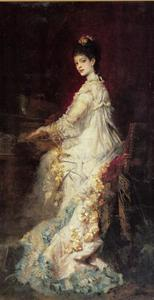 Portret van Maria, gravin van Dönhoff