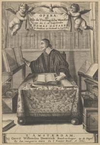 Portret van Thomas Gataker (1575-1654)