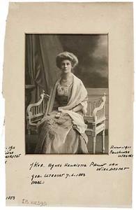 Portret van Agnes Henriette Pauw van Wieldrecht (1858-1925)