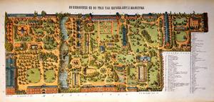 De gebouwen en de tuin van Natura Artis Magistra