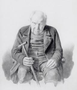 Portret van Gerrit Lammertse Dekker (1752-1857)