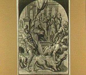 Het vetgemeste kalf wordt geslacht voor het feest van de Verloren Zoon (Lucas 15:22-24)
