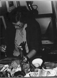 Annie Borst Pauwels in haar atelier