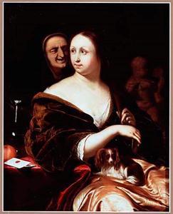 Jonge vrouw met koppelaarster